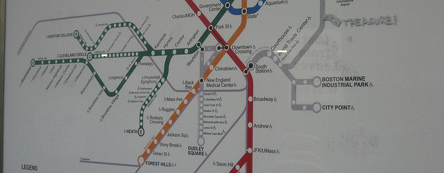 treasure subway map