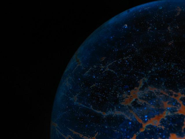 A planet-like orb