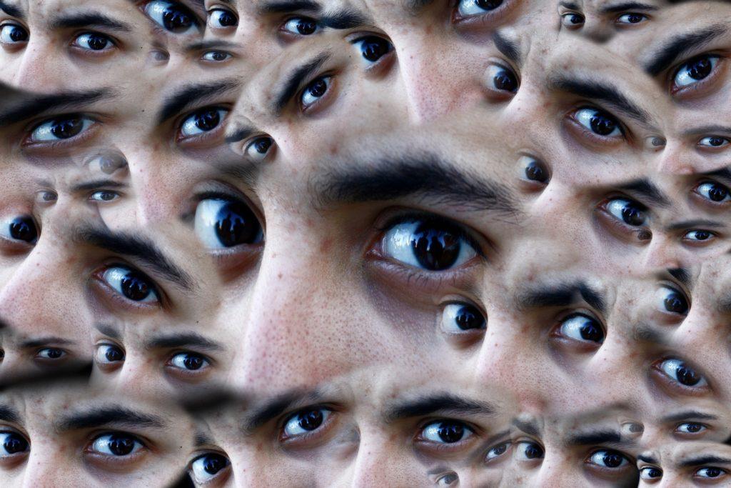 Weird concerned eyes