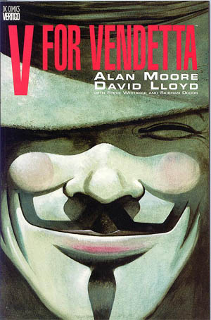 V for Vendetta graphic novel cover