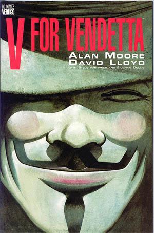 V for Vendetta graphic novel cover